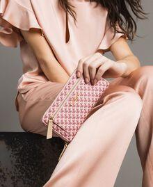 Geldbörse mit durchgängigem Schmetterlingsmuster Motiv Pearl Pink Schmetterlinge Frau 191TA7177-0S