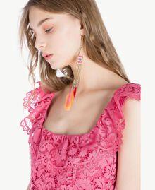 Robe longue dentelle Pink Provocateur Femme TS828N-04