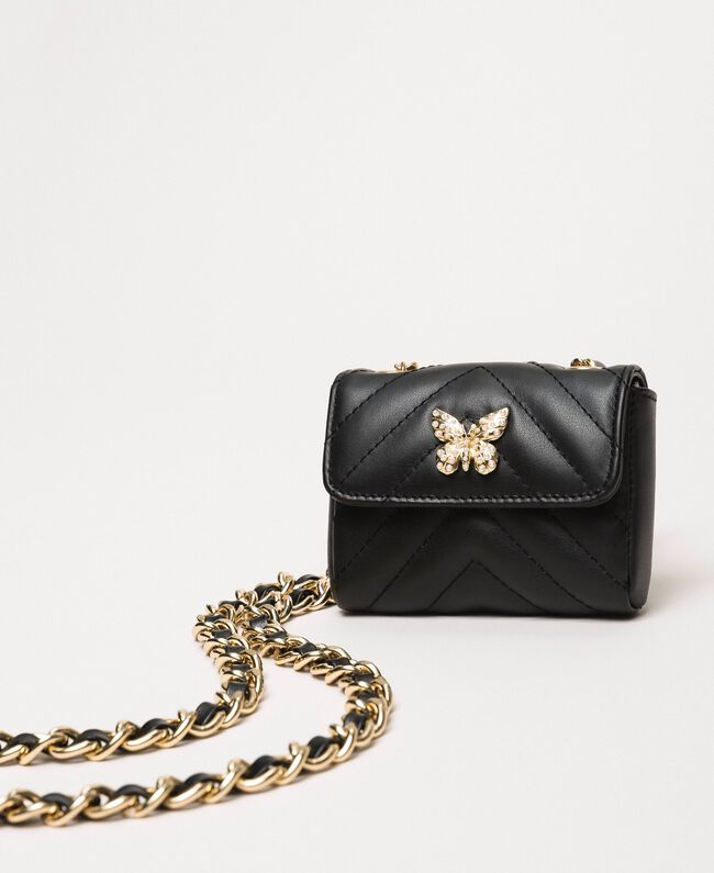 Цепочечный пояс с сумочкой Серый Титан женщина 201TA4347-03