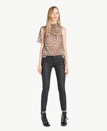 Skinny trousers Black Woman PS82KV-05