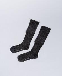 Lurex stockings Black Woman QA8TKC-01