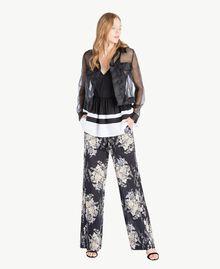 Top Noir / Blanc Optique Femme YS82FB-05