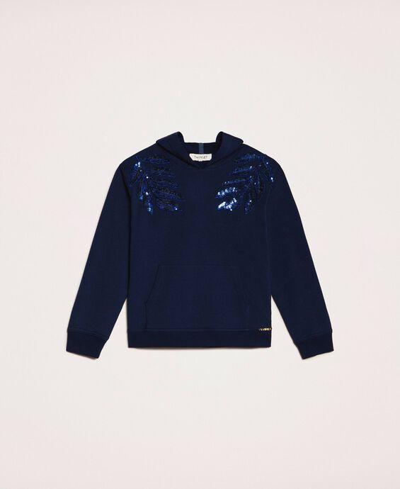 Sequin sweatshirt