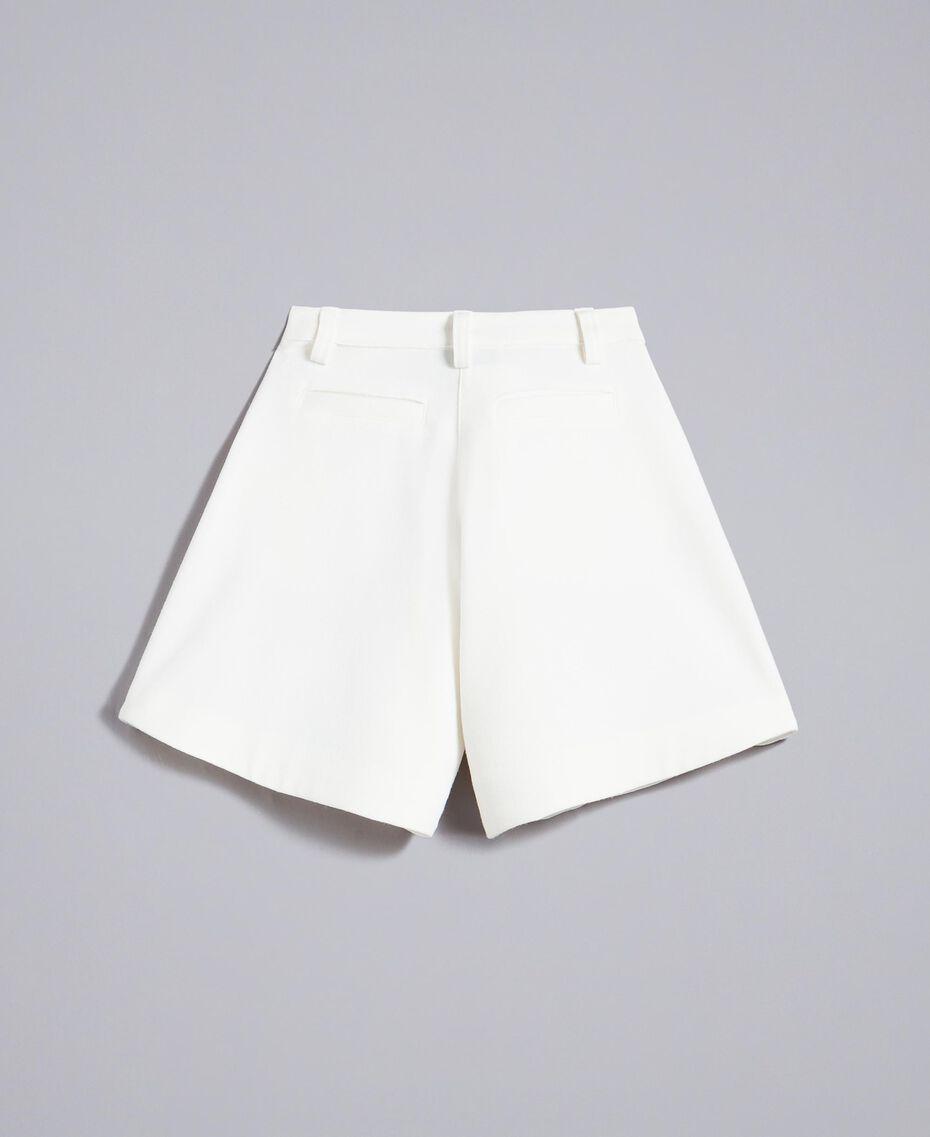 Gonna pantalone in crêpe Off White Bambina FA82DA-0S