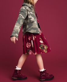 Camouflage print shirt Camouflage Print Child 192GJ2160-02