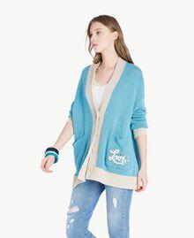 Set bracciali Multicolor Turchese / Blu Scuro / Blu D'Oriente Donna AS8P8W-02
