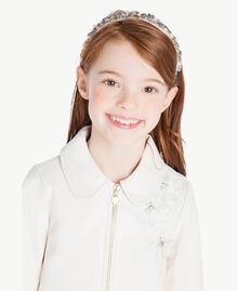 Embroidered jacket Pale Cream Child GS8LFN-05