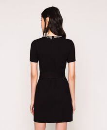 Dress with studs Black Woman 201MP2211-03