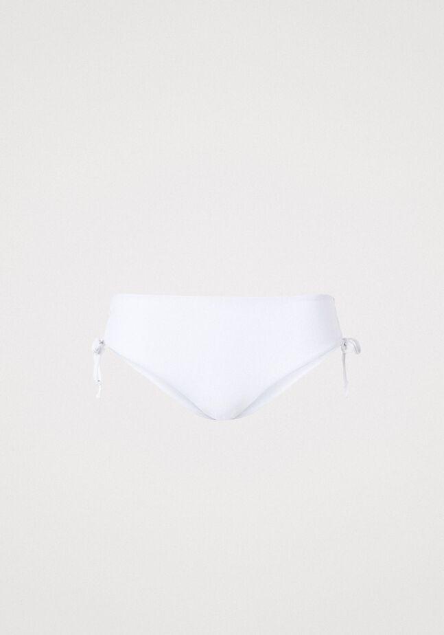 Bas de bikini avec cordon coulissant latéral