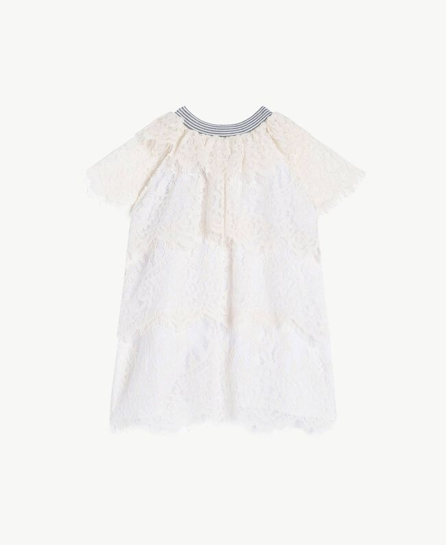 Lace dress Pale Cream Child FS82UP-01