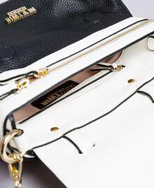 Petit sac Cécile avec cœur incrusté Bicolore Noir / Blanc Glace Femme VA8PA2-05