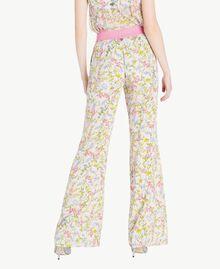Printed palazzo pants Spring Print Woman PS82PE-03
