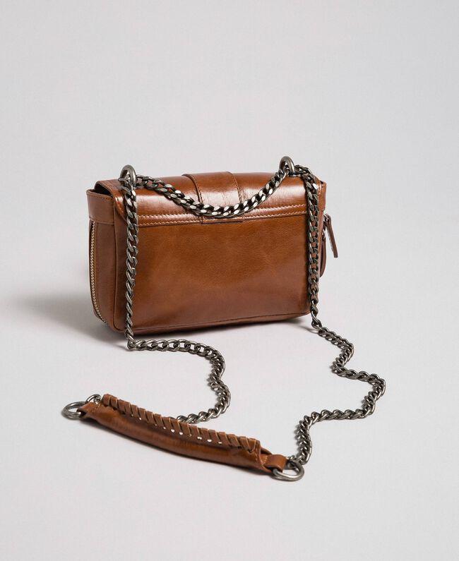 Petit sac à bandoulière Rebel en cuir Cuir Femme 192TO823F-04