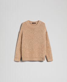 Maxi maglia in misto mohair Creme Caramel Donna 192MT3060-0S