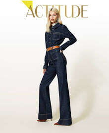 Jeans bell bottom 'Gold' Denim Rinse Donna 212AP2135-01