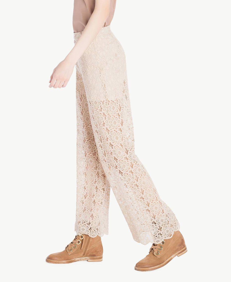Lace palazzo pants Rope Woman SS82LH-02