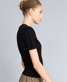 Silk and cashmere jumper Black Woman PA83GD-02