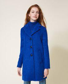 Пальто из сукна Темно-васильковый Pебенок 202GJ2840-01