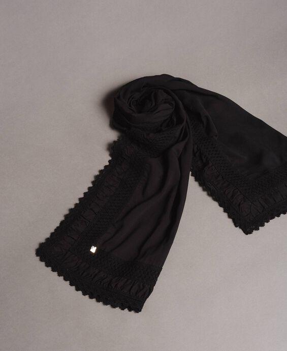 Écharpe en mousseline de coton