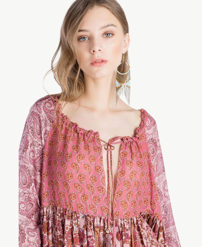 Robe imprimée Imprimé Mélangé Cachemire Femme TS82XB-04