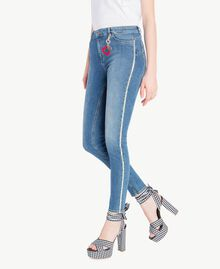 Skinny jeans Denim Blue Woman JS82V2-02
