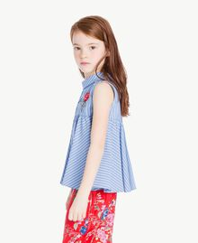Striped top Infinite Light Blue Jacquard Child GS82LR-03
