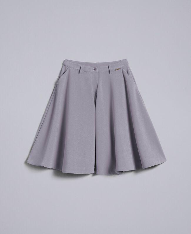 Crêpe trouser skirt Grey Stone Child GA82DC-01