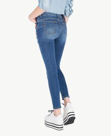 Skinny jeans Denim Blue Woman JS82WD-03