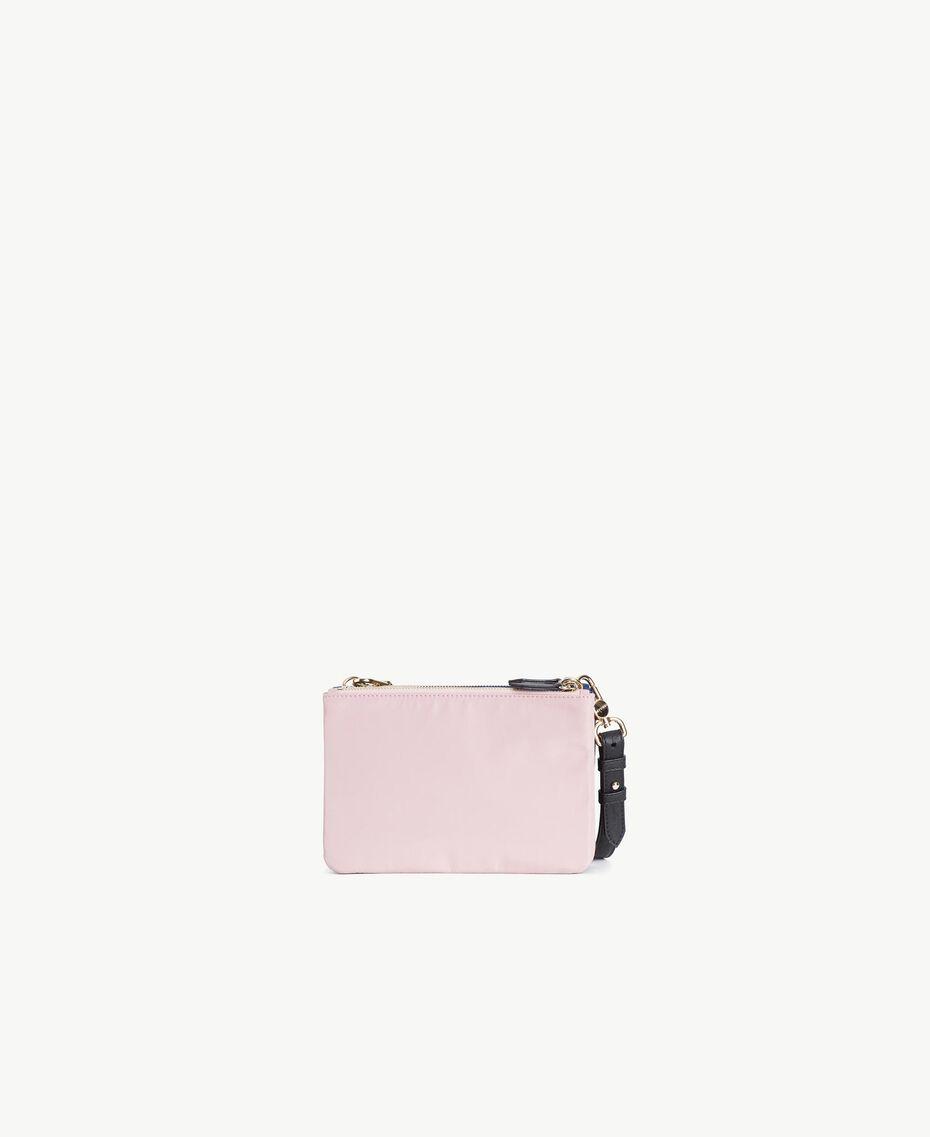 TWINSET Umhänge-Pochette Multicolor Armeegrün / Schwarz / Misty Pink Frau VS8PDB-03