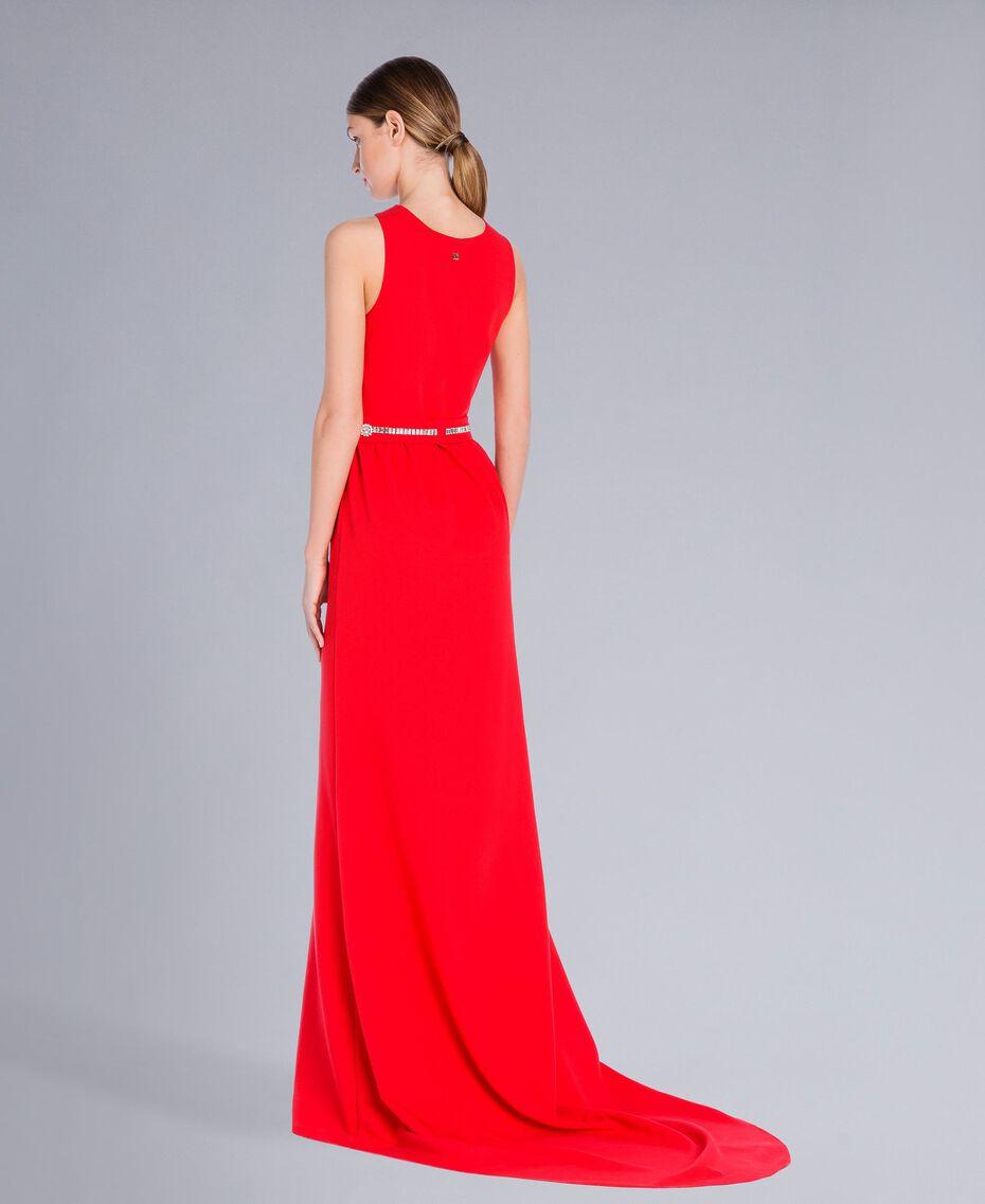 Robe longue Rouge NCN2CB-03