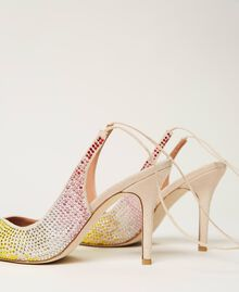 Zapatos de salón recubiertos de strass «Strass Rainbow» Mujer 211TCT092-02