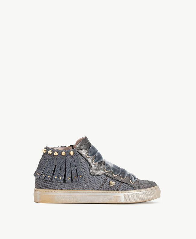 Fringed sneakers Lava Grey Female HA78C1-01