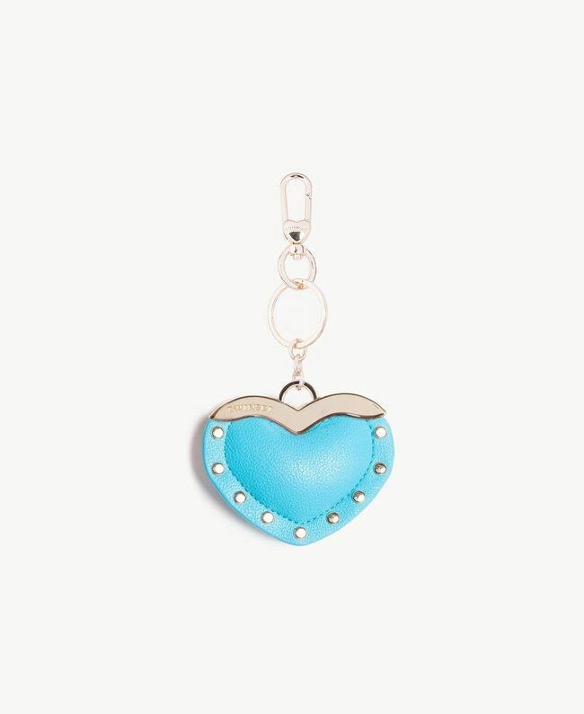 Heart keychain Turquoise Woman AS8PJA-01
