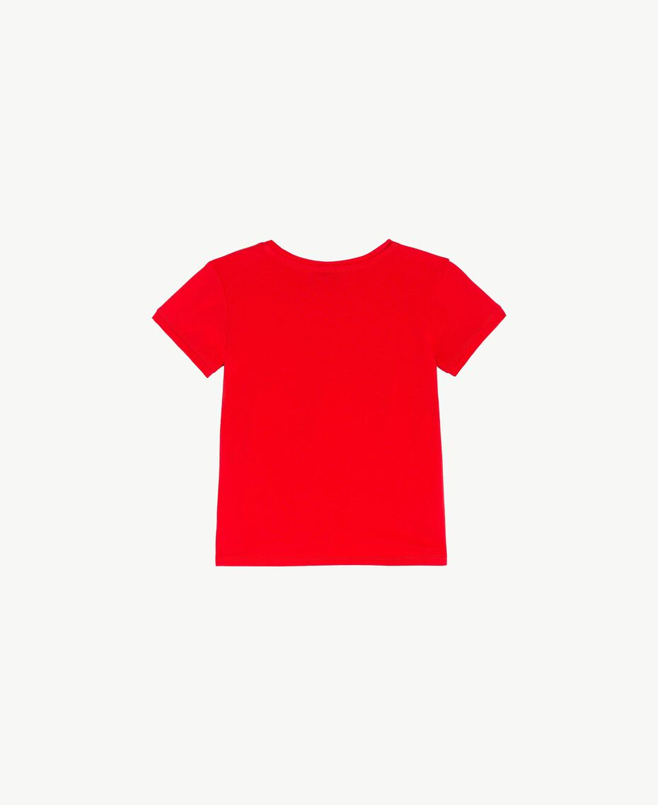T-shirt coton Rouge Grenade Enfant FS82BA-02