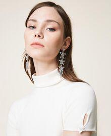 Earrings with rhinestone stars Crystal Woman 202TA430J-0S
