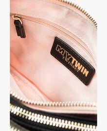 TWINSET Umhänge-Pochette Multicolor Armeegrün / Schwarz / Misty Pink Frau VS8PDB-04