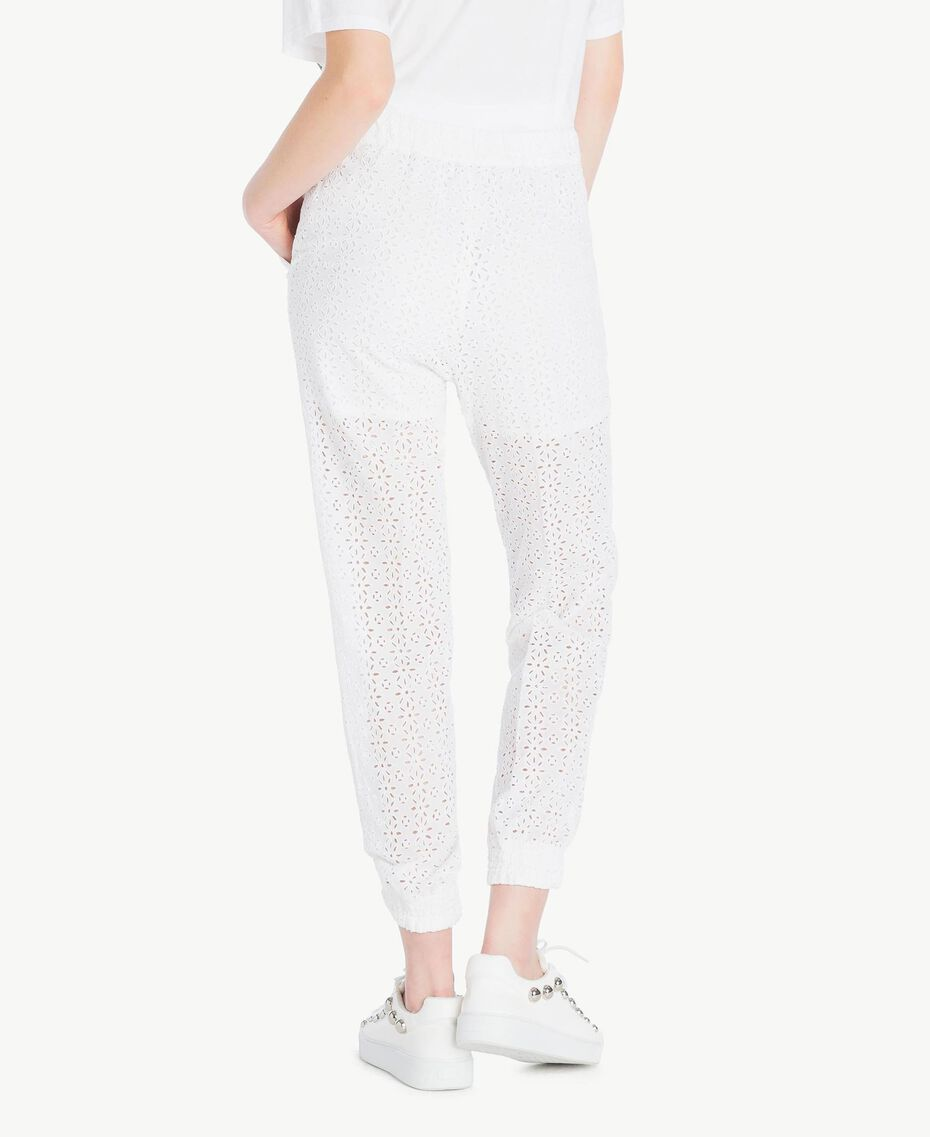 Broderie anglaise trousers Off White Woman YS82CF-03