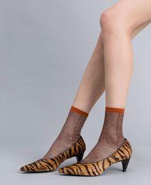 Туфли-лодочки с анималистическим принтом Набивной Тигровый женщина CA8TEA-0S
