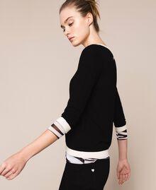 Slim fit jumper Black Woman 201TQ3050-02