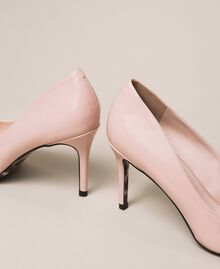 Patent leather court shoes Quartz Pink Woman 201MCP01L-02