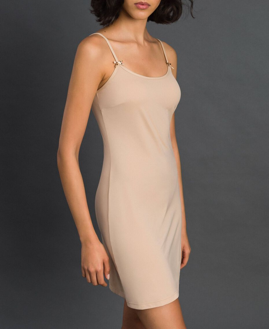 nuisette à bretelles fines Rose Skin Femme LCNNAA-02