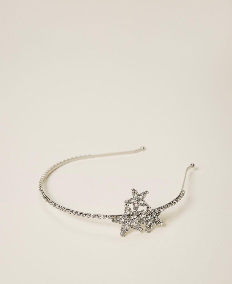 Headband with rhinestone stars Crystal Woman 202TA430G-01