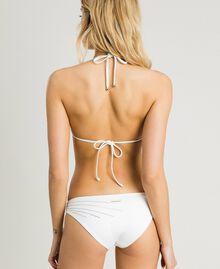 Einfarbige Bikinihose Schwarz Frau 191LMMG66-03