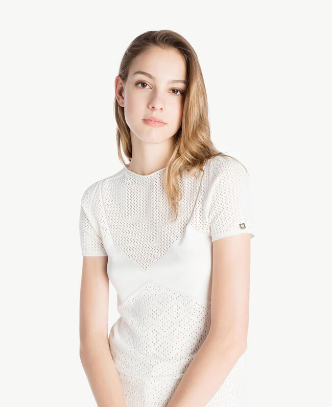 Pull viscose Ivoire Clair Femme TS832S-04