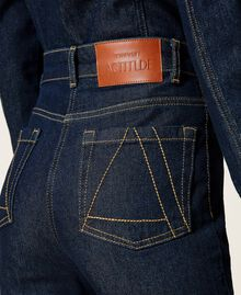 Jeans bell bottom 'Gold' Denim Rinse Donna 212AP2135-05