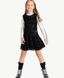 Vestido de encaje Negro GA72LB-02