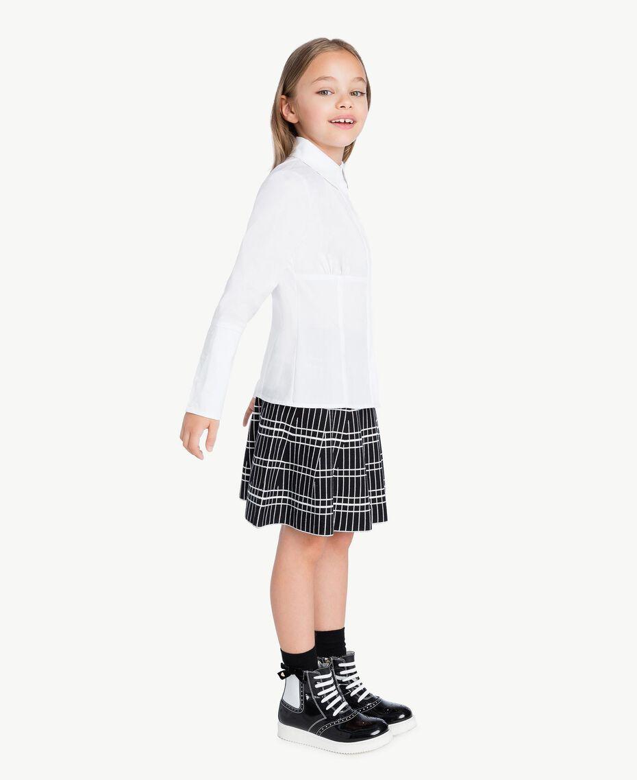 Poplin shirt White GA72TA-02