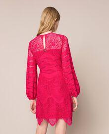 Macramé lace dress Black Cherry Woman 201TP2031-04
