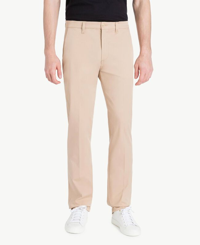 Chino pants Beige Porcelain Man US824N-01
