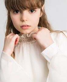 Blusa in georgette Chantilly Bambina 192GJ2351-05
